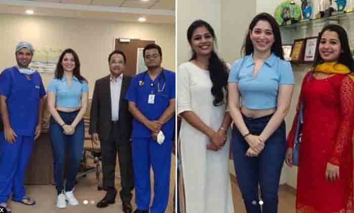 Tamannaah grateful to doctors and nurses after COVID-19 recovery, Chennai, News, Hospital, Treatment, Health, Health and Fitness, Cinema, Actress, National