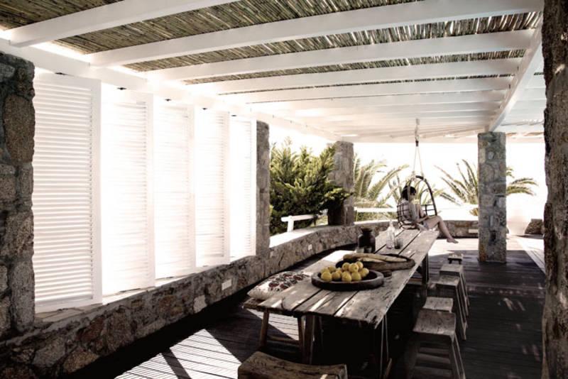 PUNTXET Hotel San Giorgio en Mykonos ¡Espectacular! #deco #decoracion #hogar #home #exteriores #outdoor #estilobohemio #bohemianstyle #travel #hotel