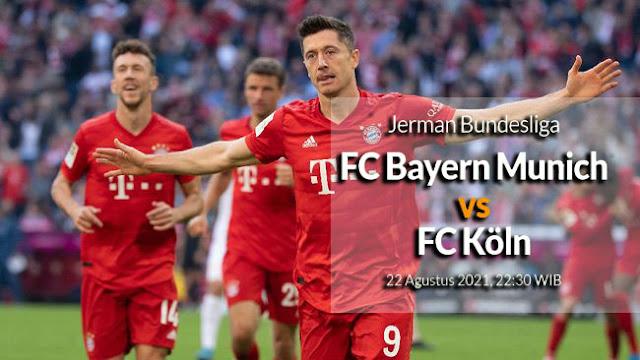 Prediksi Bayern Munich vs FC Koln