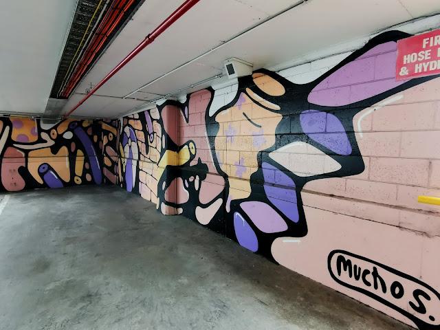 Street Art in Wollongong by Muchos