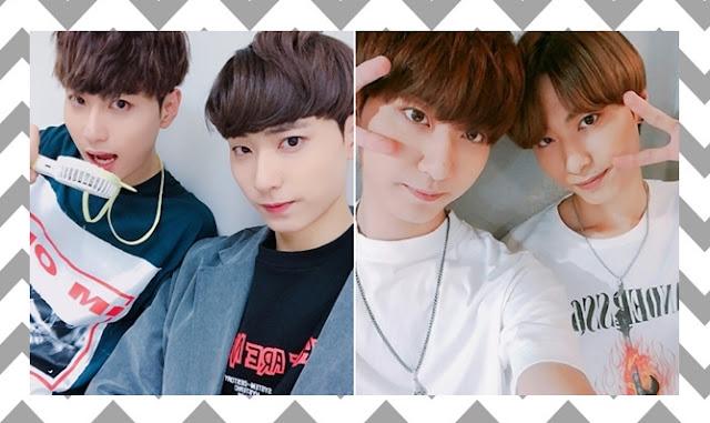 K-Pop grupo MVP - Been e Jin