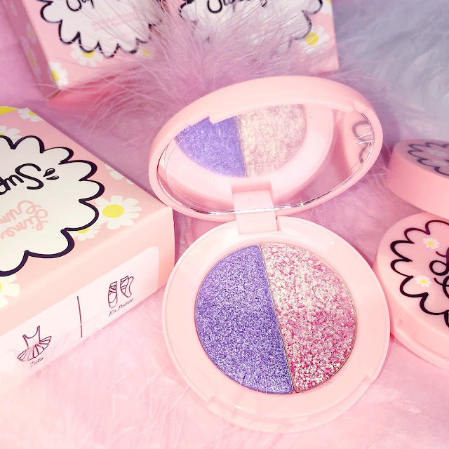 Lime Crime Superfoil Eyeshadows | Tutu/En Pointe