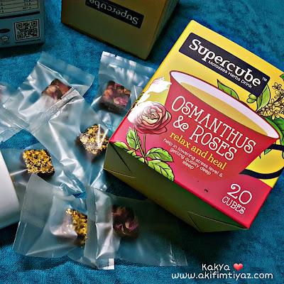 kelebihan Supercube Molasses Herbs membantu sistem pencernaan, tidur lebih lena dan  mencantikkan kulit