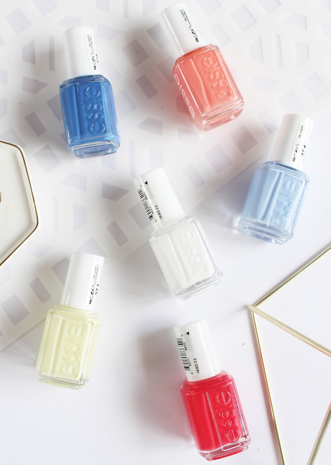 ESSIE | 2015 Summer Nail Polish Collection - Review + Swatches - CassandraMyee