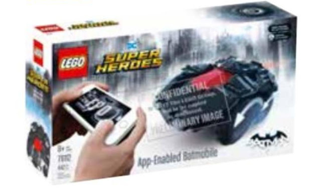 Lego Batman 76112 App-Controlled Batmobile