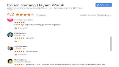 Harga Tiket Masuk Kolam Renang Hayam Wuruk, Kodam Brawijaya Surabaya