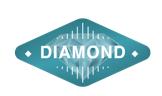 Logo peringkat vtube diamond