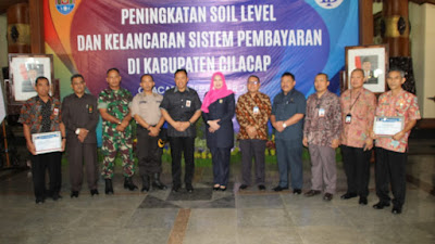 Pasilog Kodim 0703/Cilacap Dukung Workshop Peningkatan Soil Level Yang Digelar Bank Indonesia