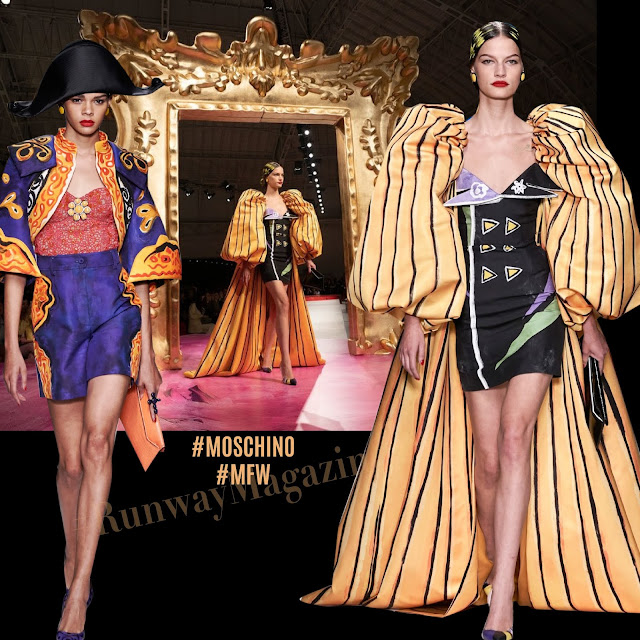 Moschino Spring Summer 2020 Milan Fashion Week by RUNWAY MAGAZINE