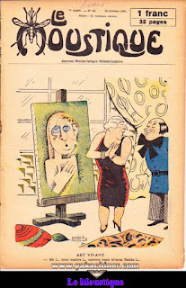 Le Moustique, Journal Humoristique Hebdomadaire, numéro 42, année 1931