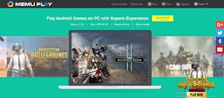 Memu player is one of best android emulators like Gameloop