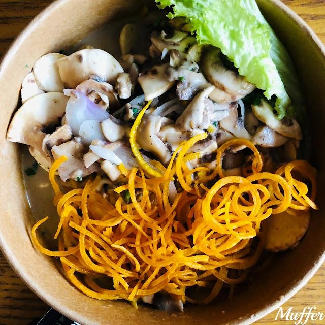 Boru Gohans - Ceviche de Champiñon
