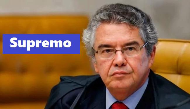 """Marco Aurélio envia ofício e """"proíbe"""" que pessoa comum se dirija a ele"""