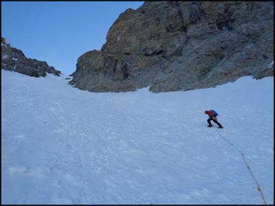 Glaciar de Sialouze, Monte Pelvoux