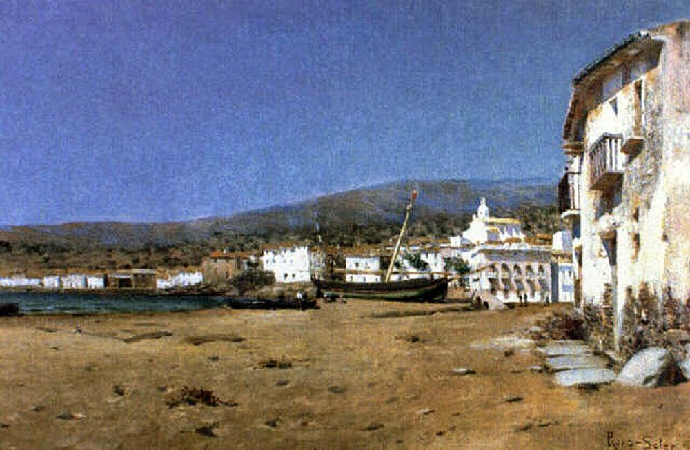 Joan Roig i Soler, Cadaqués en Pintura, Joan Colom, Cadaqués en Pintura, Paisajes de Cadaqués, Roig i Soler