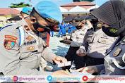 Propam Polda Sulawesi Barat Lakukan Operasi Gaktibplin di Polres Majene