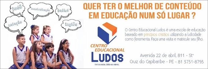 Centro Educacional Ludos - Forte no Ensino e Sólido nos Valores