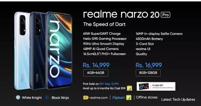 Realme Narzo 20, Narzo 20A and Narzo 20 Pro launched, price starts Rs 8,499