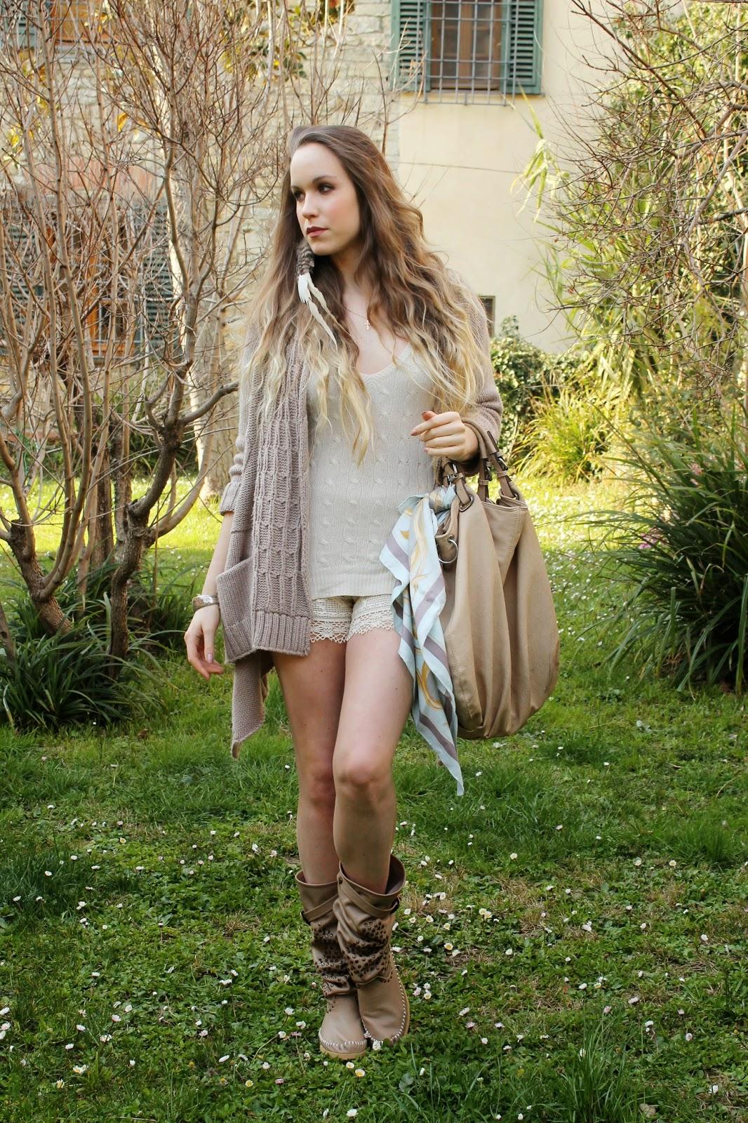 hermes scarf tied on bag
