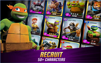 Ninja Turtles Legends Mod Apk Android Terbaru
