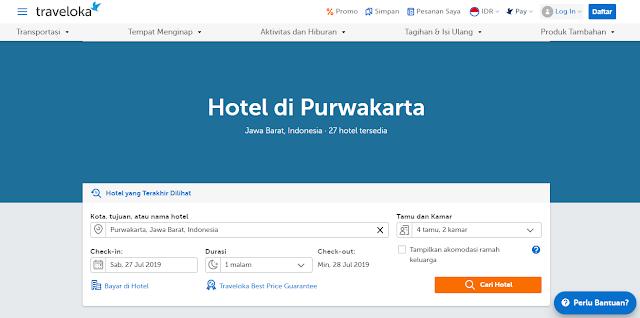 Cari Hotel Terlengkap Di Purwakarta Via Traveloka