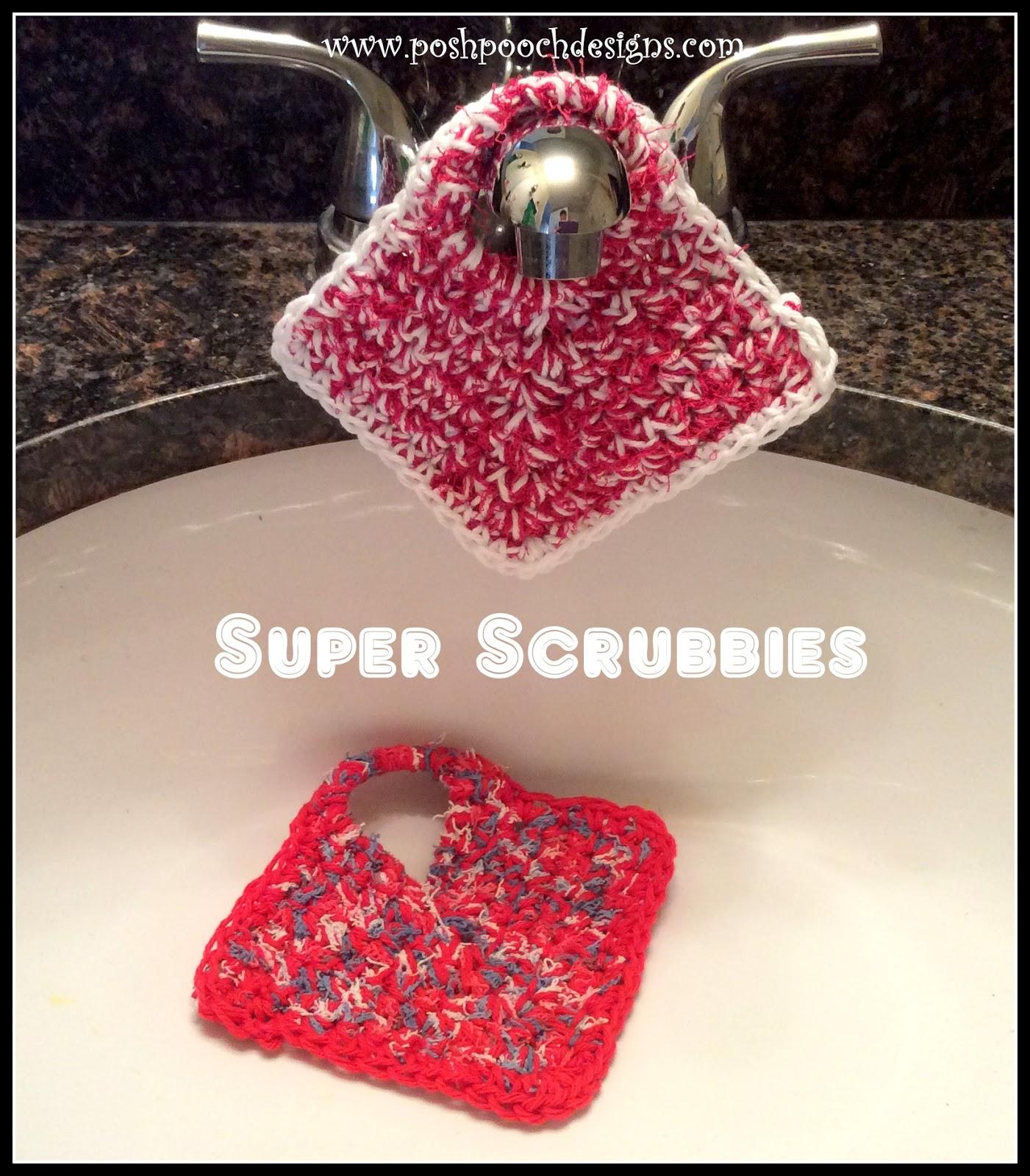Crochet Dish Scrubbies Pattern New Inspiration Design