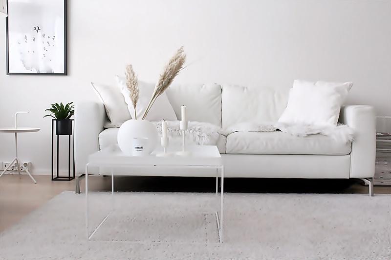 la dolce vita blogi valkoinen sohva