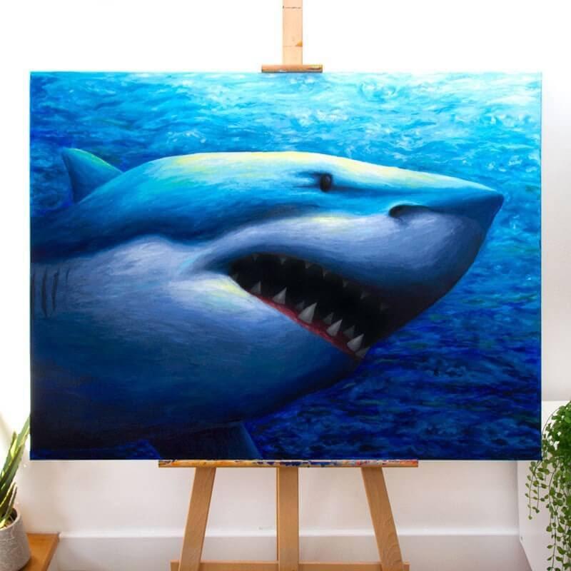 03-Great white shark-Rachel-Froud-www-designstack-co