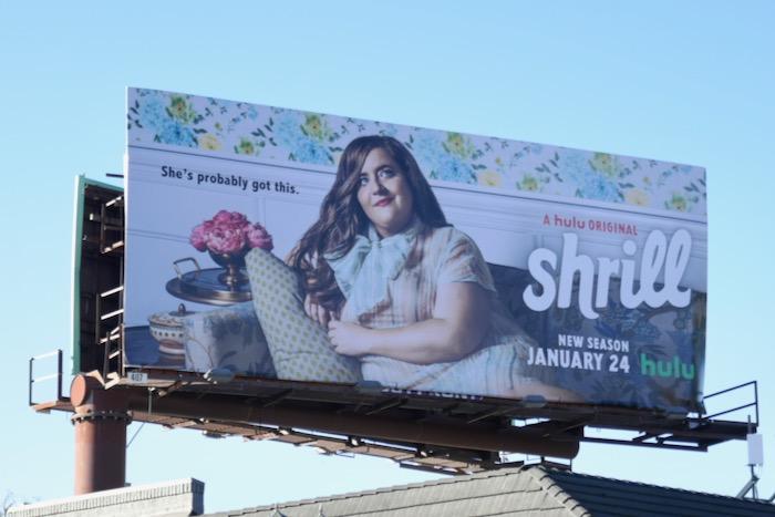 Shrill season 2 billboard