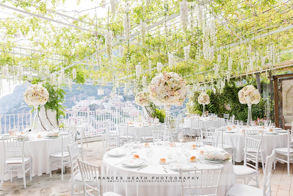 Villa Oliviero wedding reception
