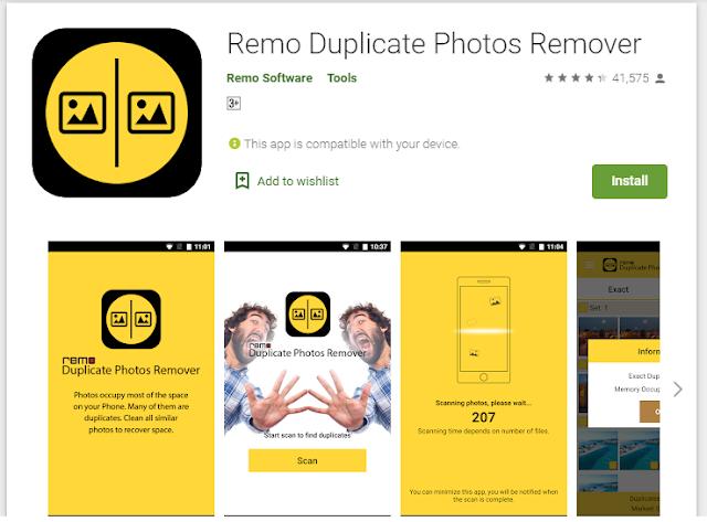 remo duplicate photo remover