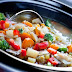 Simmered vegetables with cumin