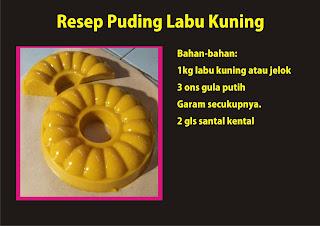 Resep Puding labu Kuning yang enak by ommasakom.net