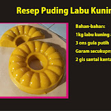 Inilah Cara Mudah Membuat Puding Labu Kuning
