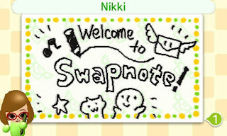 Swapnote Nikki Nintendo 3DS