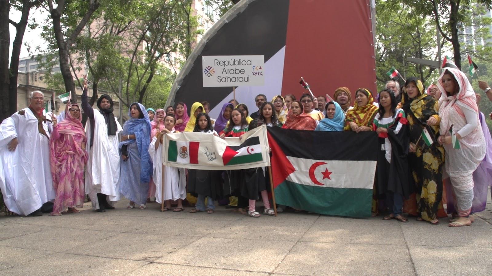 Resultado de imagen para Saharawi community mexico