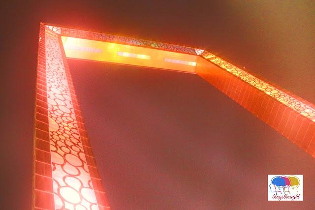 Dubai frame, world largest photo frame