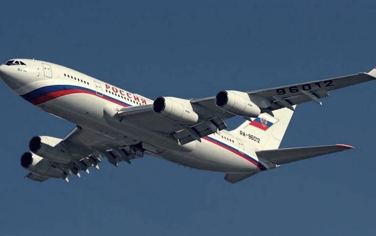 Pesawat kepresidenan Rusia paling canggih