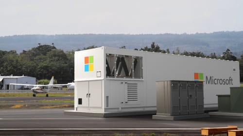 Microsoft built a mobile data center in the box