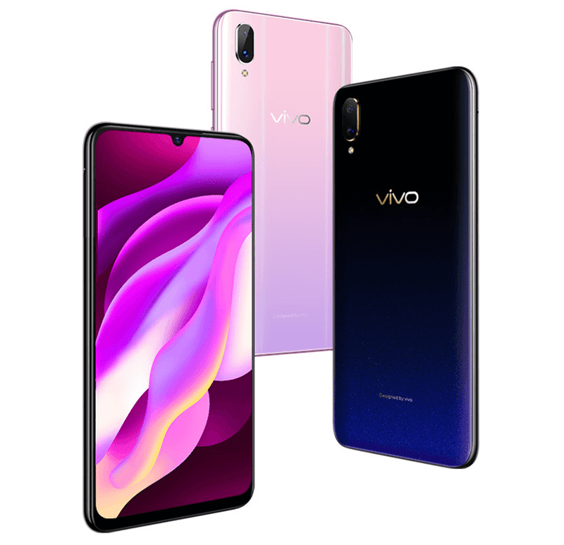 Different color options of the Vivo Y97
