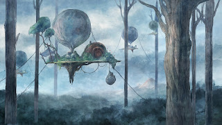Child of Light PS4 Background