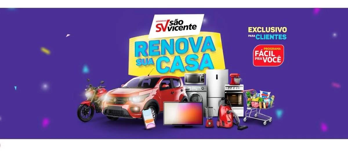 Promoção renova sua casa 2020 São Vicente supermercados