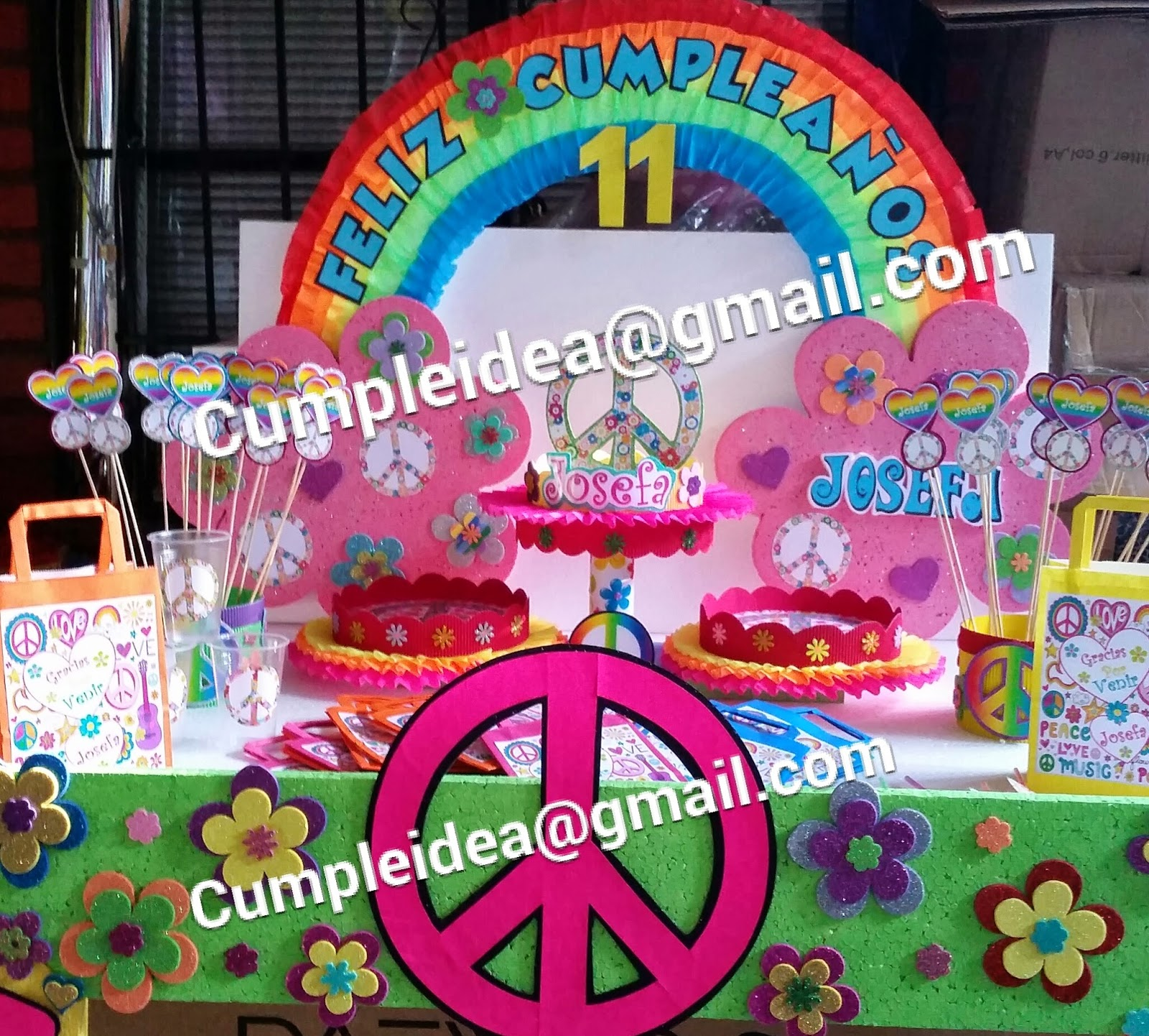 Decoraciones Hippies Decoraciones Infantiles Hippie