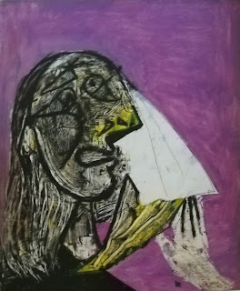 Плачущая женщина Пабло Пикассо 1937