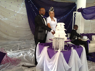 Image result for #BBNaija gifty wedding pictures