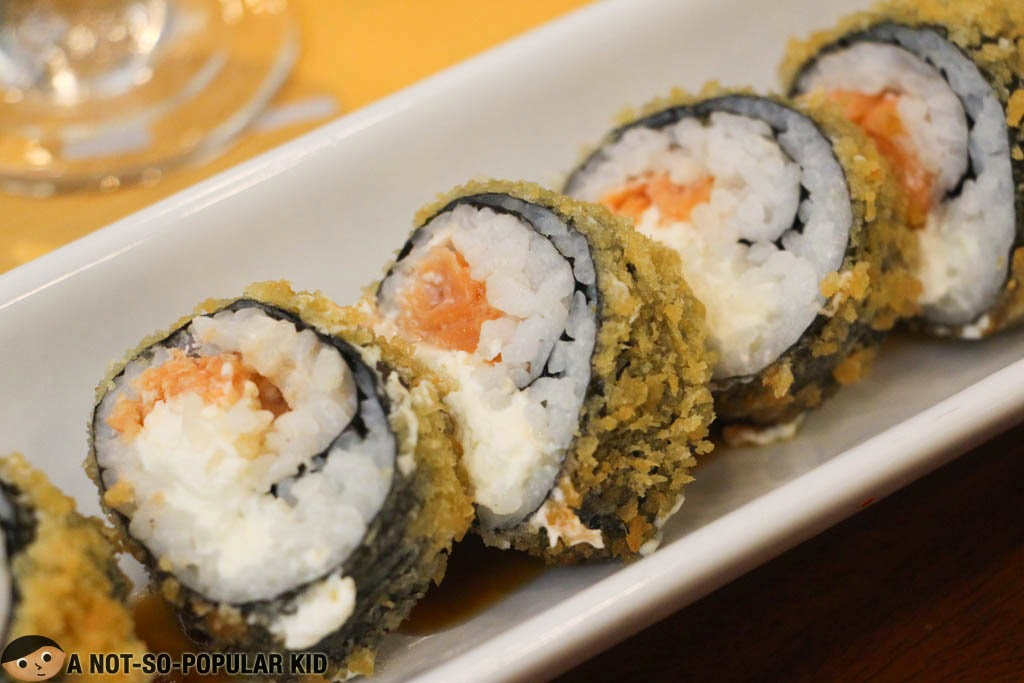 Cream Cheese Salmon Roll of Torch
