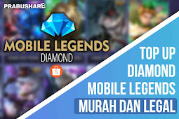 Beli Diamond Mobile Legends Murah Aman di Shopee Tanpa Email dan Password