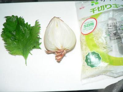 サラダ材料