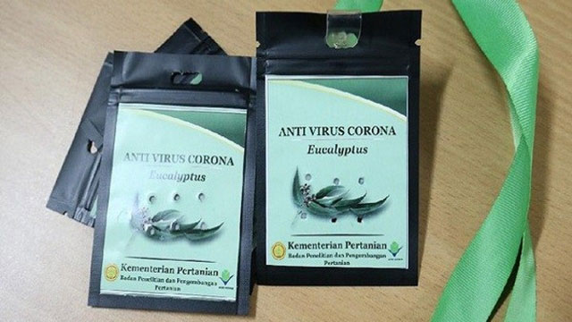 Kalung Penangkal Virus Corona