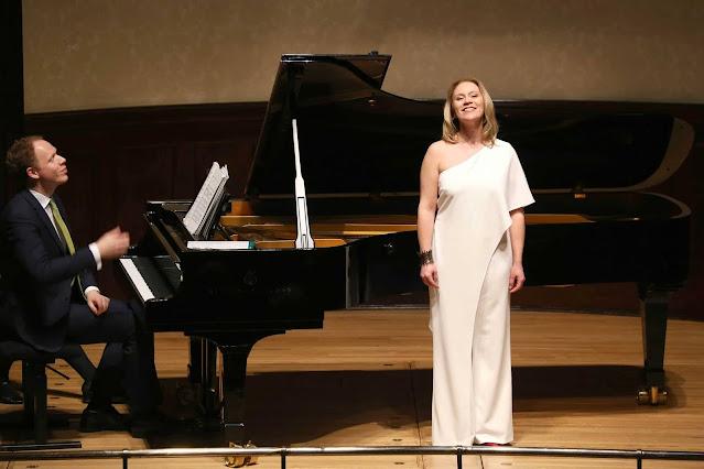 Joseph Middleton and Carolyn Sampson at a previous Wigmore Hall concert (Photo Robert Piwko)